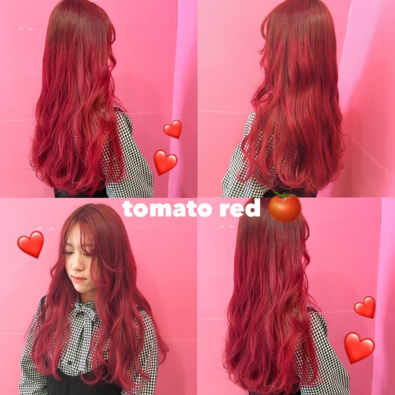 トマトカラー♡