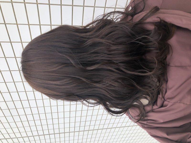《abe》似合わせ×透け感カラー
