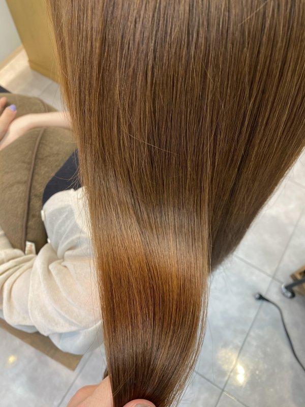 湿気や紫外線対策に髪質改善トリートメント!