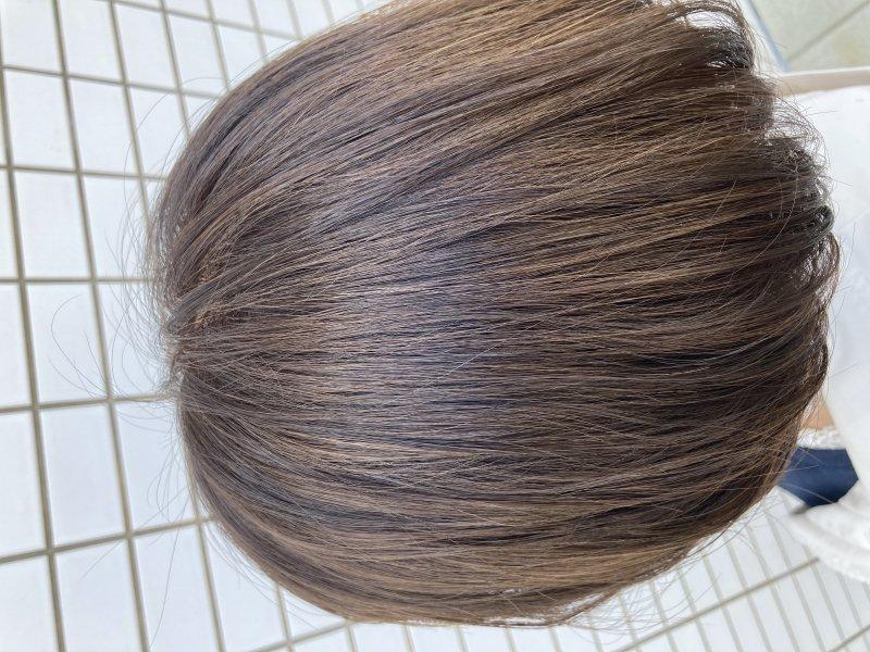 《abe》白髪染め×明るいカラー