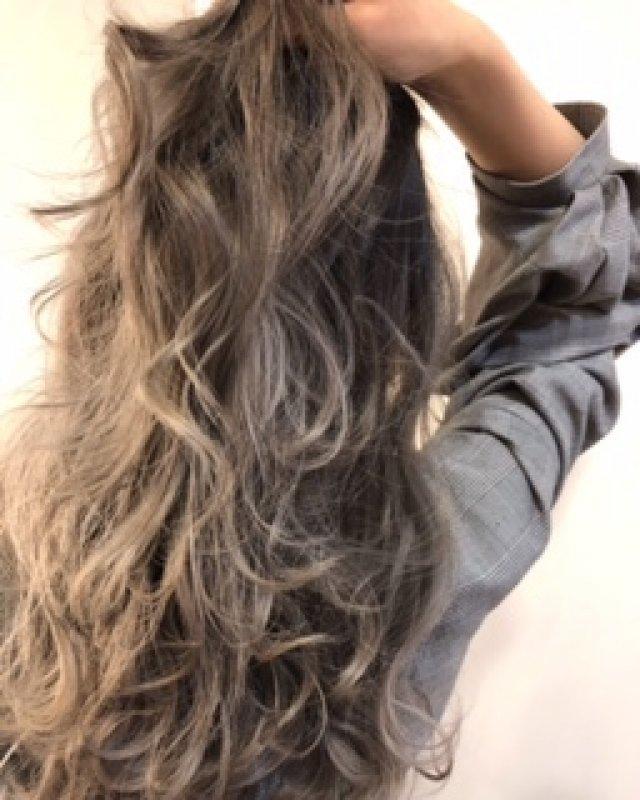 ハイトーンでも髪は綺麗に保てます!