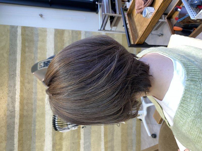 ハイライト×ローライトで大人可愛いヘアへ
