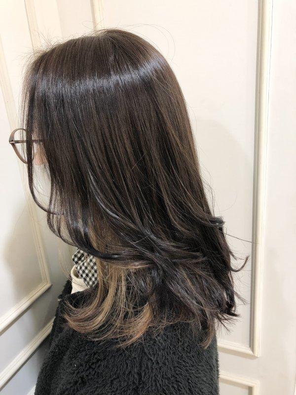 yuuka☆イヤリングカラー ベージュ