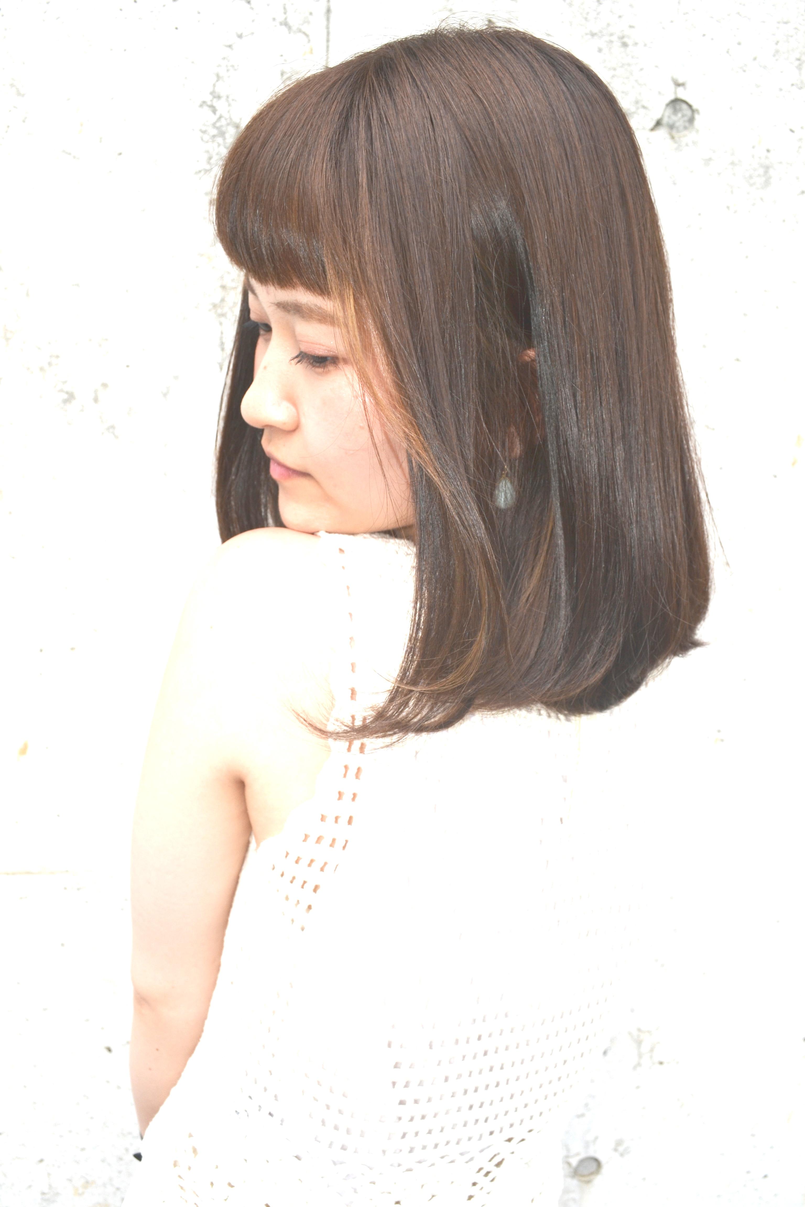 【平日限定】オーダーメイドカラー+トリートメント  ¥6480