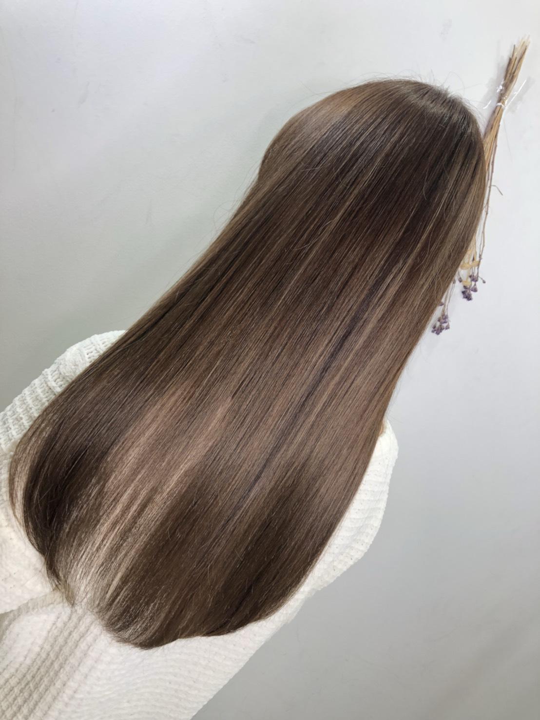 今の髪の状態などを診断するカウンセリング