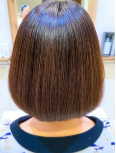 毛髪知識が豊富なスタッフが施術する縮毛矯正、毛質改善トリートメントでお悩みを解決♪