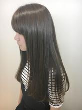 【プレミアム縮毛矯正+スタイリストカット+シャンプー¥18700】さらツヤ髪で毎日のスタイリングを簡単に♪